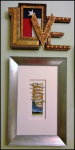 Artisans Corner Gallery Custom Picture Framing One of a kind Love
