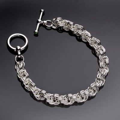 Double Loop Rope Chain Maille Bracelet