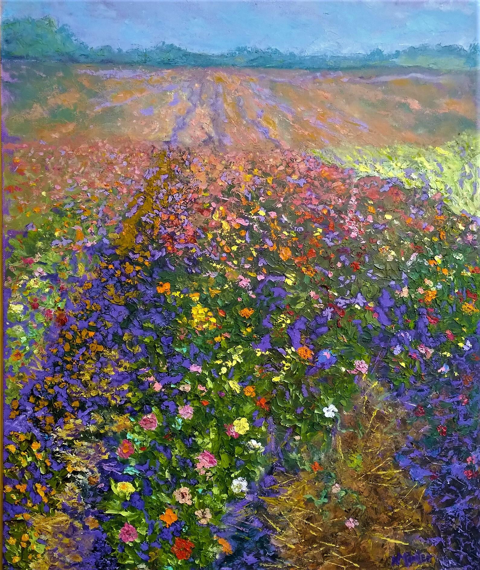 flower field by nancy minter