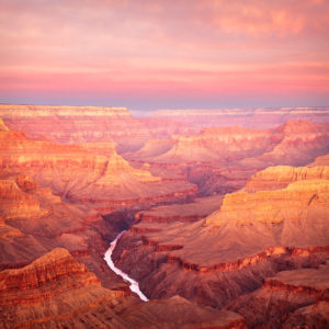 Grand Canyon Morning Twilight By Dean Chriss