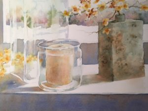 Still life watercolor
