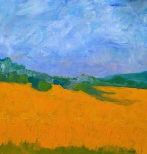 golden-field-margret-khairallah-artisans-corner-gallery