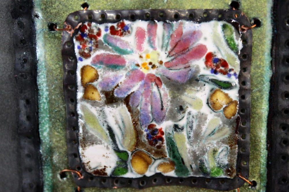 Enamel Floral Marty Moore