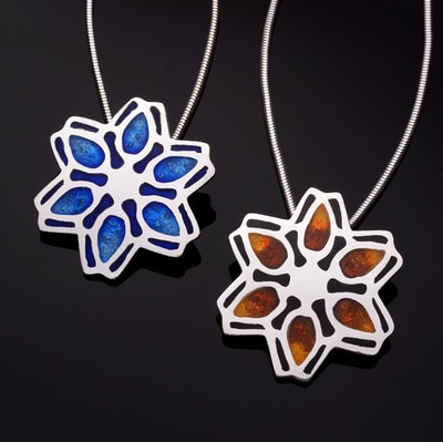 fire-and-water-flowers Terri Hickey Jewelry