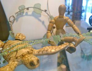 #AdventureswithArt Artisans' Corner Gallery Beach Glass