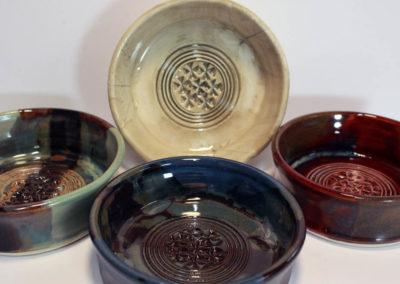 Artisans Corner Gallery Brown Bear Pottery Garlic Grater
