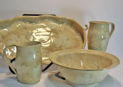 Artisans Corner Gallery Brown Bear Pottery Greenleaf