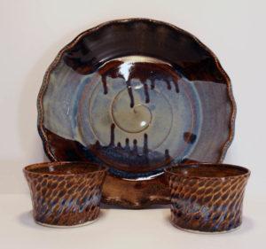 Artisans Corner Gallery Brown Bear Pottery Milky Way