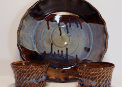 Artisans Corner Gallery Brown Bear Pottery Milky Way
