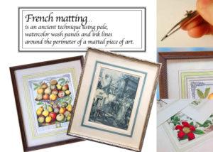 Artisans Corner Gallery Framing French Matting