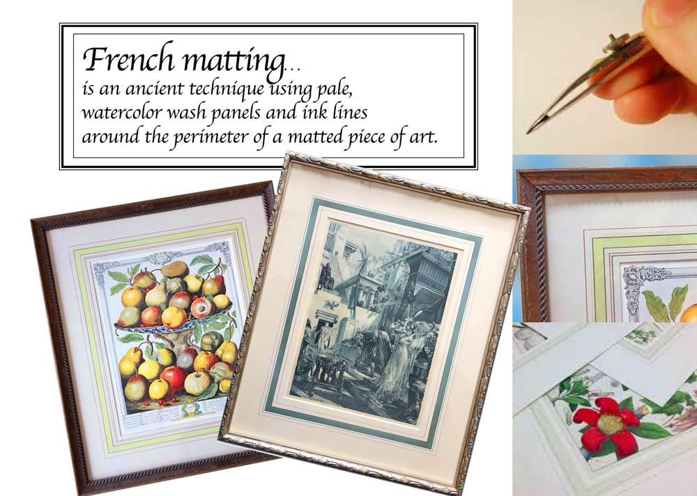 Artisans Corner Gallery Framing French Matting
