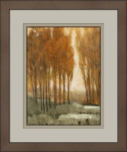 Artisans Corner Gallery Framing Golden Forest II