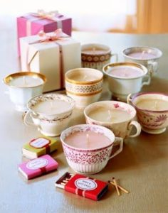 Teacup Candle Samples