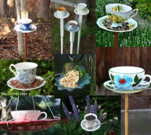 Teacup Bird Feeder Samples