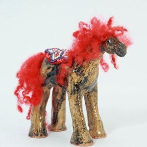 red-horse-kc-henry-pottery-artisans-corner-gallery
