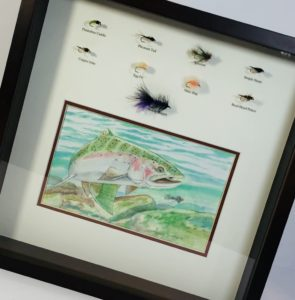 Fly-Fishing Shadowbox