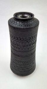 Birched Textured Vase Artisans' Corner Gallery