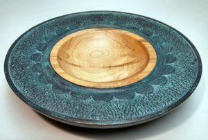 Oxidized Bowl Artisans Corner Gallery