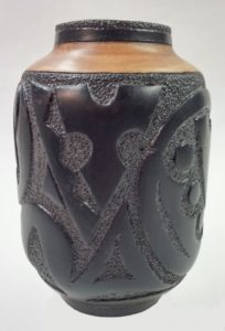 Maple Ebony Vase Artisans Corner Gallery