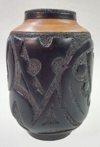 Maple Ebony Vase Artisans Corner Gallery
