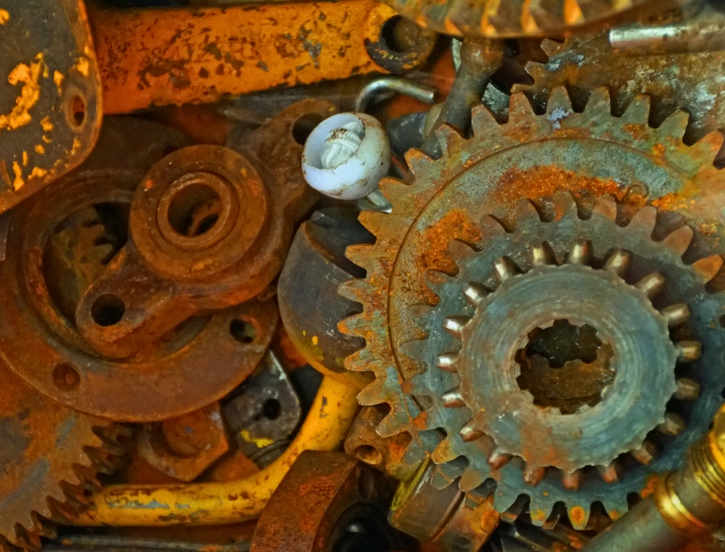 Gears by Joanne L. Orichella
