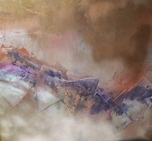 KH @ Artisans Corner Gallery Mountain Mist by Karen Hopwood
