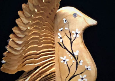 Chandra's Passions hand carved wood birds