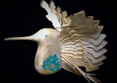 Artisans' Corner Chandra's Passions Med Hummingbird