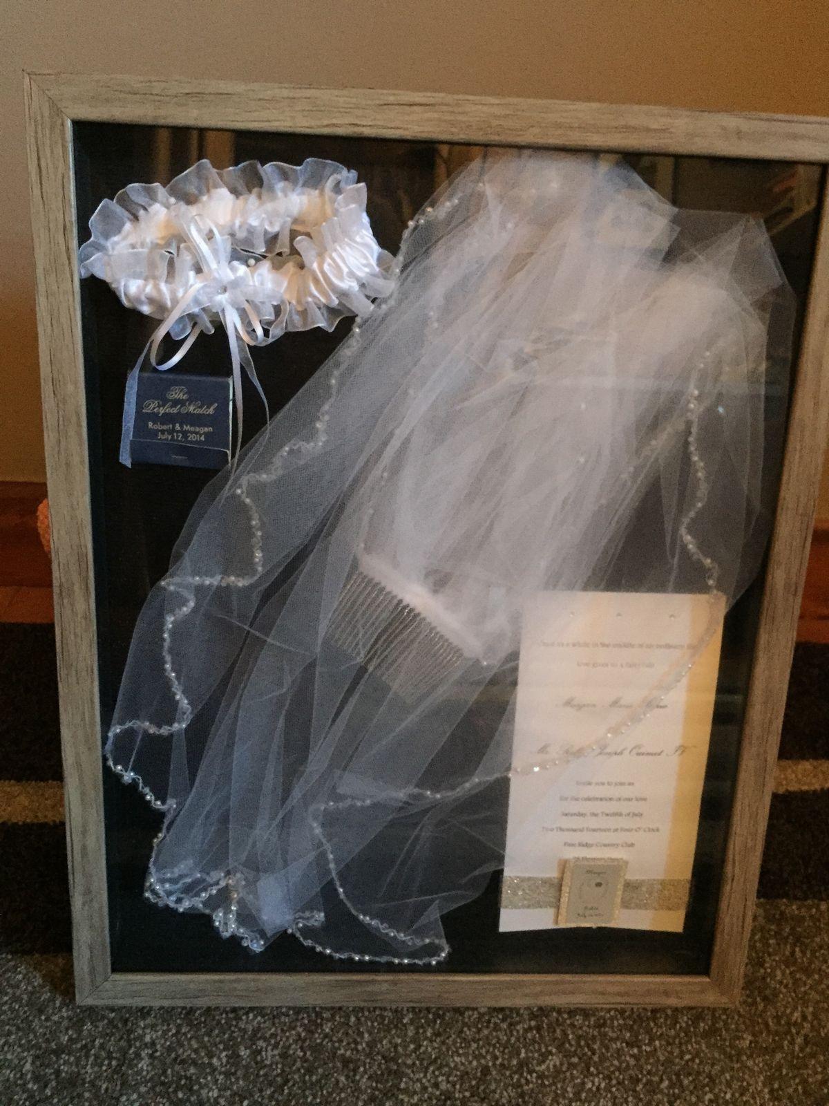 Wedding Shadow Box Example