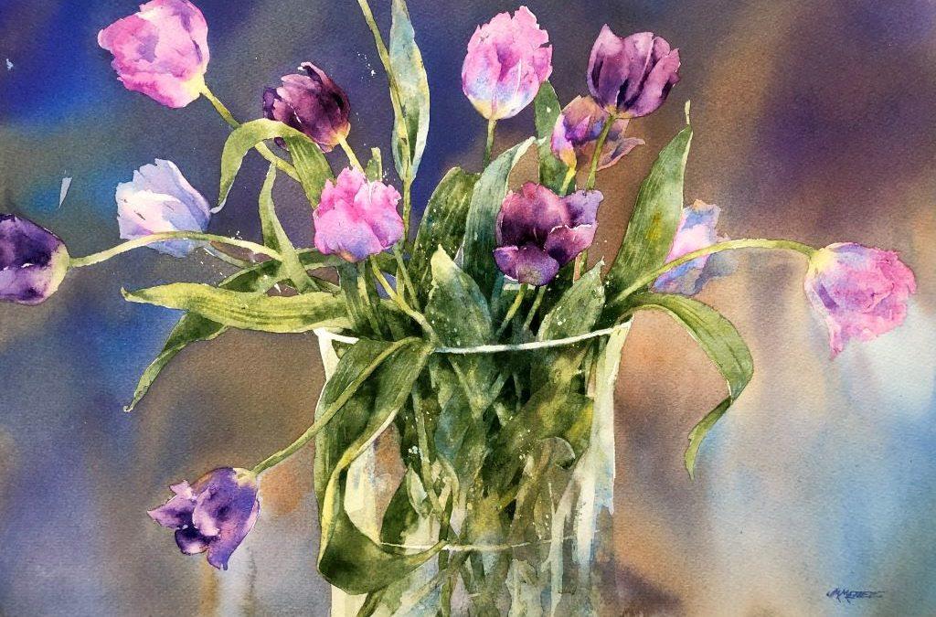 Celebrate Spring Watercolor Workshop with Jan Mettee