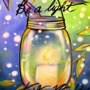 Artisans' Corner Gallery Paint & Sip Friends of Womensafe