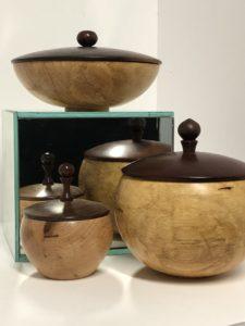 Artisans Corner Gallery Tom Ream Lidded Pots