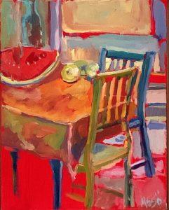 Artisans Corner Acrylic Painting workshop Mary Ann Sedivy