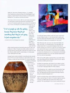 Artisans Corner Gallery article GB pg 2