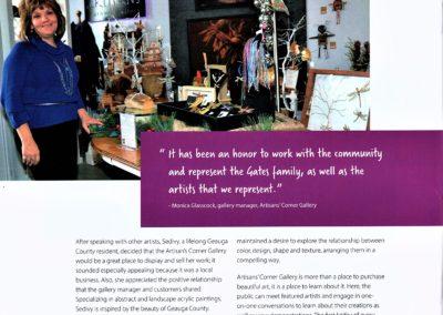 Artisans Corner Gallery article GB pg3