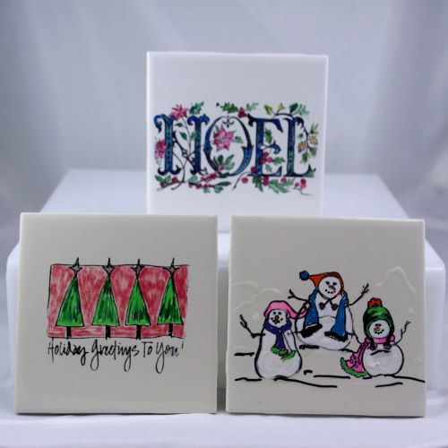 Holiday Tile Painting Workshop