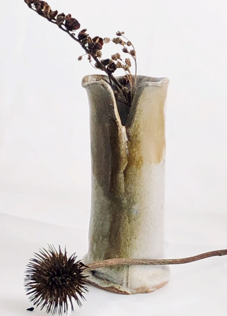 Artisans Corner Gallery KC Henry Organic Pottery Beige