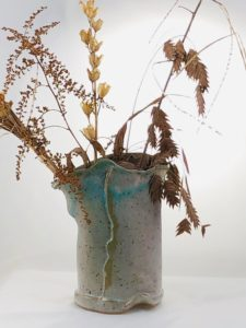 Artisans Corner Gallery KC Henry Organic Pottery Teal touch