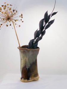 Artisans Corner Gallery KC Henry Organic Pottery short tan