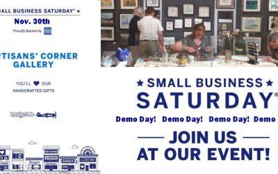 Small Business Saturday Demo Day!