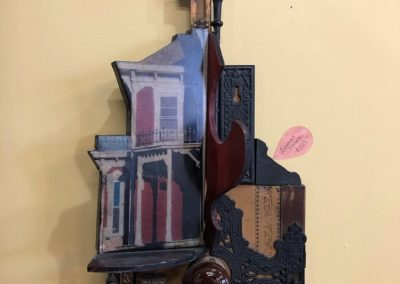 Re-found objects Assemblage Artwork Lebanon Porch