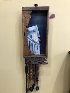 Assemblage Artwork Springfield Spindles