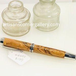 Olive wood Ballpoint pen