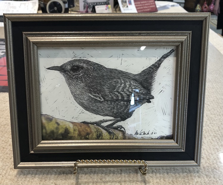 Scratchboard Techniques with Barbara Martin